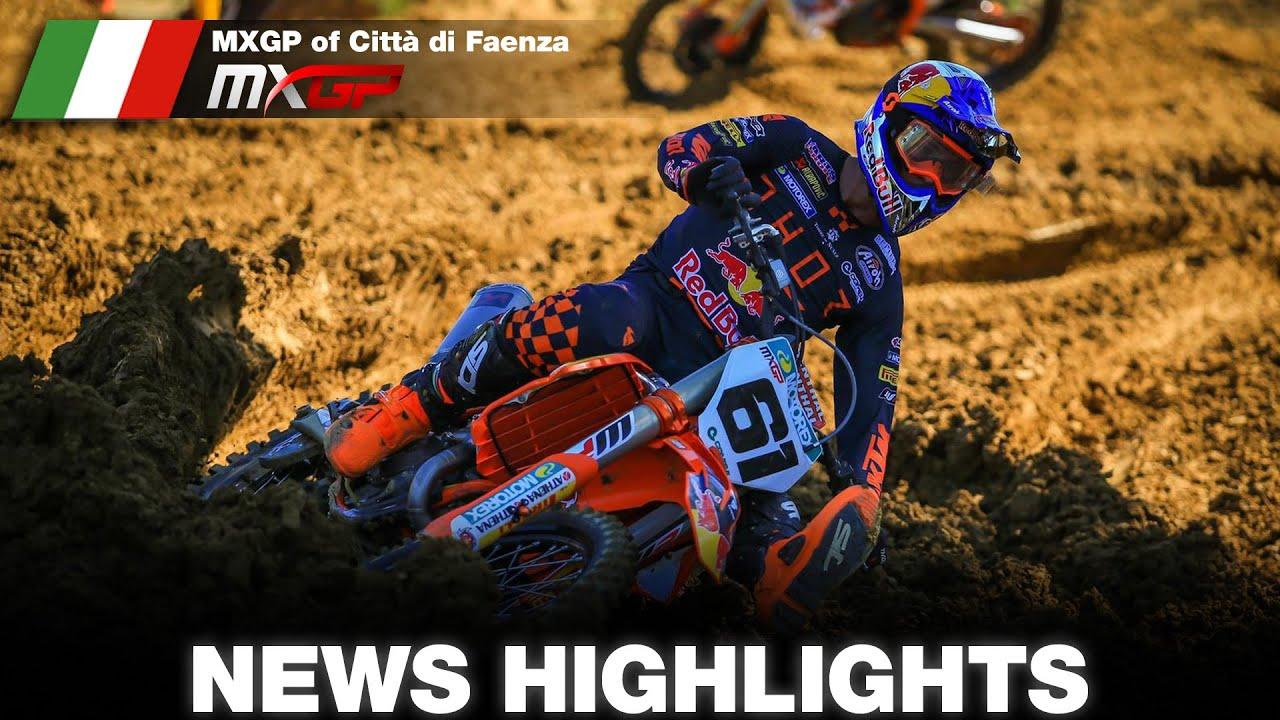 MXGP Faenza Highlights!