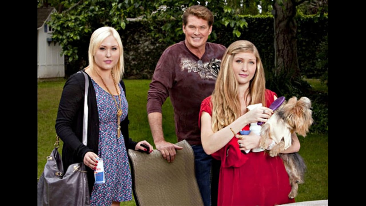 David Hasselhoff And His Former Wife Pamela Bach And Their Daughters