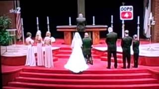Свадебные приколы видео 2015  - Funny Wedding 2015 #83