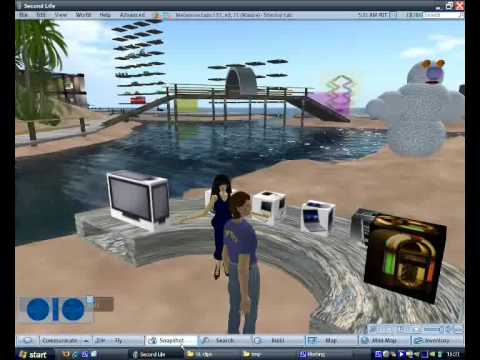 Shenkar College: Virtual Worlds - 2008projects samples