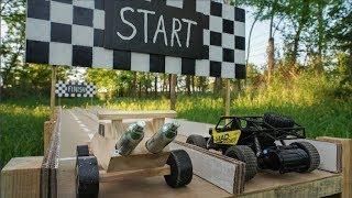Drag Racing CO2 DIY Car vs Electric Car Hot Wheels Battle (Reuploaded)