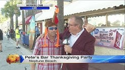 Pete's Bar Thanksgiving party