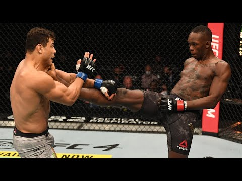 Лучшие моменты Исраэля Адесаньи в UFC