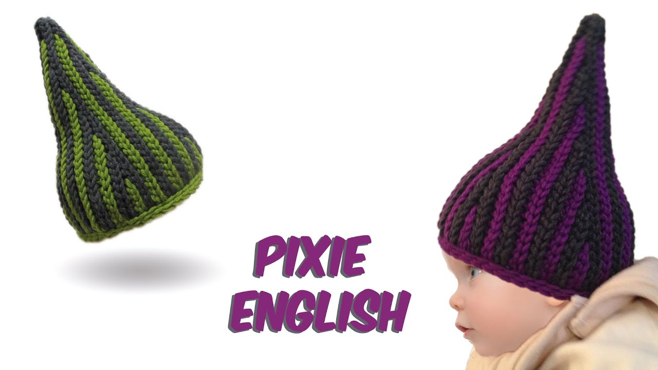 Crochet Stitches English Version : ... stitch crochet - Pixie Babyhat - (bosnian crochet) english version