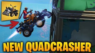 *NEW* QUADCRUSHER IS OP..! Fortnite Funny Fails and WTF Moments! #66
