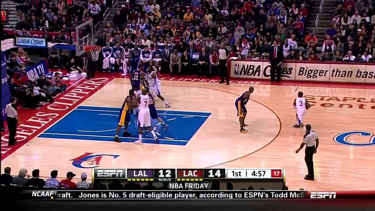 Watch Kobe Bryant dunk over Chris Paul ...