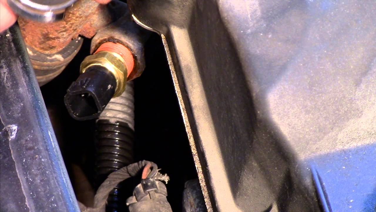 engine coolant temp sensor replacement dodge, chrysler, plymouth 2 7l youtube Dirt Bike Coolant