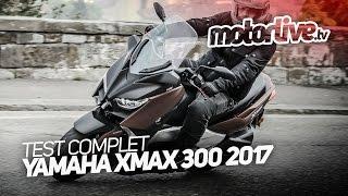 YAMAHA XMAX 300 2017   TEST COMPLET [+SUBTITLES]