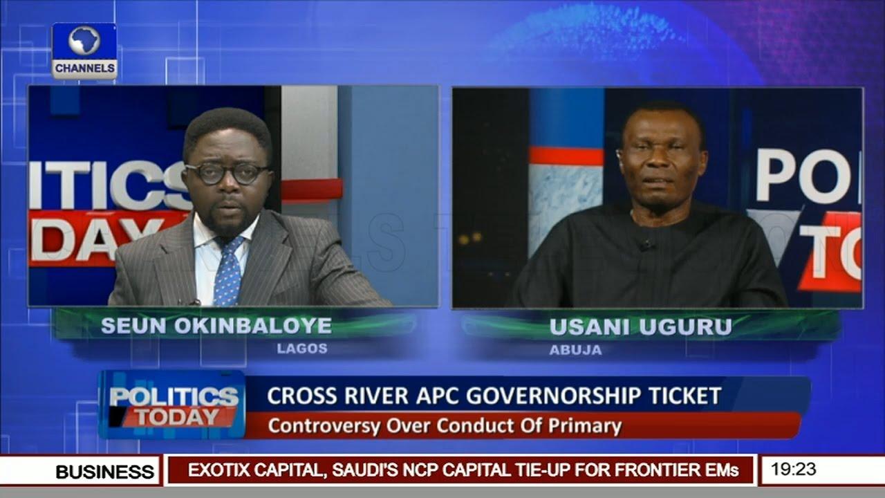 Uguru, Enoh Face Off Over Conduct Of APC Cross River Gov'ship Primary Pt 2  |Politics Today|