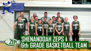 Shenandoah Zeps 6th Grade Basketball Team Highlight (2019 Cambridge Youth Basketball Tournament)