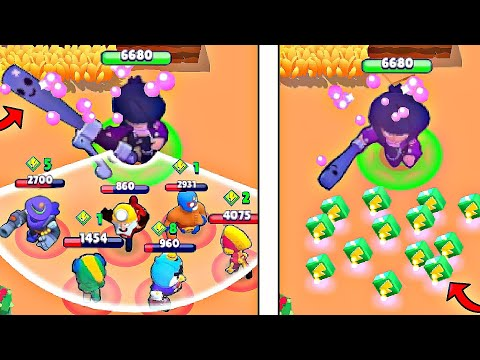 *CRAZY* Bibi DESTROY In Brawl Stars! Wins & Fails #96