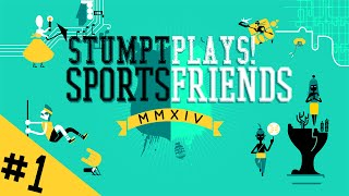 Stumpt Plays - SportsFriends - #1 - BaraBariBall Madness (4-Player PS4 Gameplay)