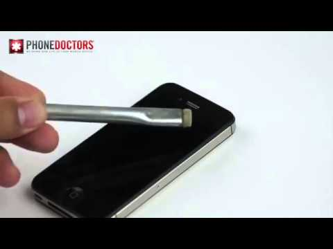 how to clean iphone speakers phone doctors tech tip iphone ear speaker clean up655 17113