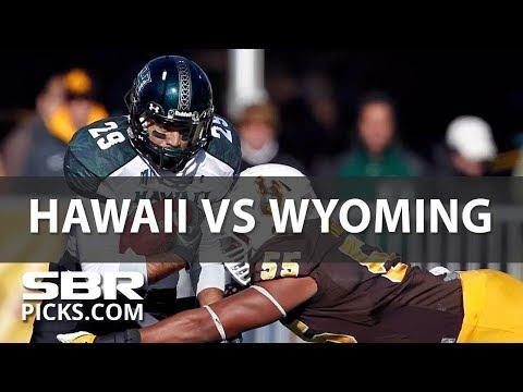 NCAAF Picks   Hawaii vs Wyoming   High Scoring Shootout in Saturday
