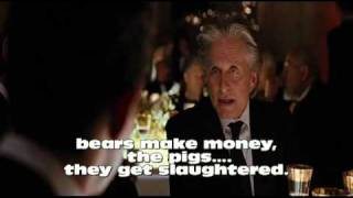 "wall street 2 movie - ""pigs get slaughtered"""