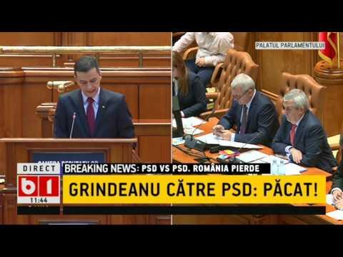 GRINDEANU CATRE PSD - PACAT!