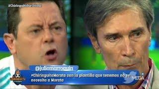 ¡TREMENDO CARA A CARA entre Roncero y 'Lobo' Carrasco sobre la rivalidad Barça-Madrid