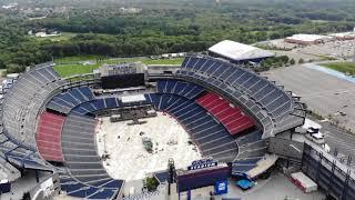 Gillette Stadium filmed with the Dji Mavic Air Drone 8/21/18