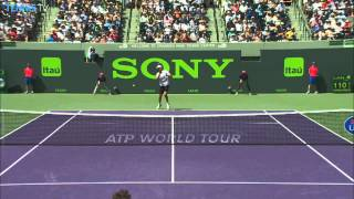Tennis Hot Shots: Top 5 Moments From Miami
