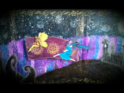 """""""Magic Carpet Ride""""-Mixed Media Journal Page- The Gypsy & The Witch"""