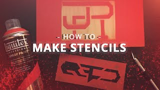 How to make spray paint stencils [Quick & Easy]