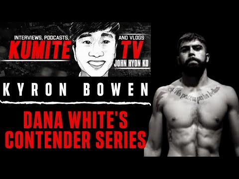 Kyron Bowen talks upcoming Collin Huckbody clash at Dana White's Contender Series