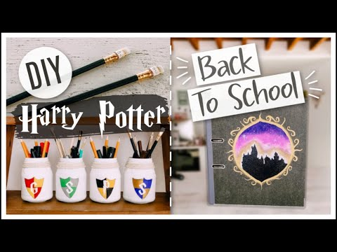 DIY BACK TO SCHOOL HARRY POTTER #7 : Fournitures Scolaires Faciles - Séverine Jenny