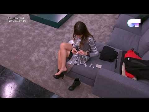 Aitana y su canción de las tiritas antes de la Gala 12