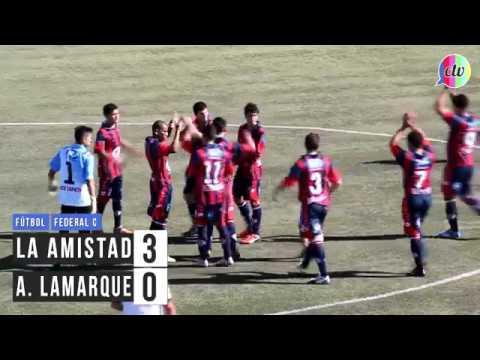Federal C: La Amistad 3 - 0 Atlético Lamarque
