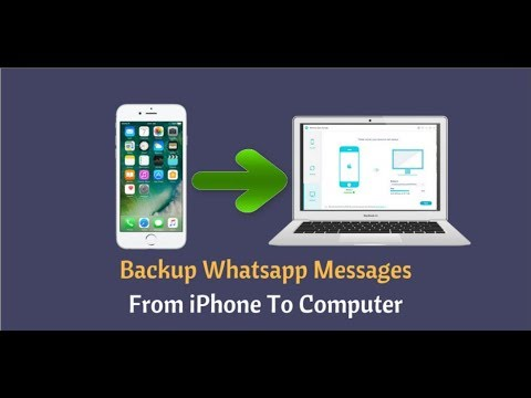 How to Backup WhatsApp Messages on iPhone XS