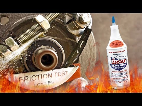 Lucas oil Heavy Duty oil stabilizer Does it really work? Friction test