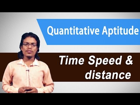 Best Quantitative Aptitude tricks for(IBPS PO/SBI/GRE/CAT/All exams) : - Time, Speed & Distance