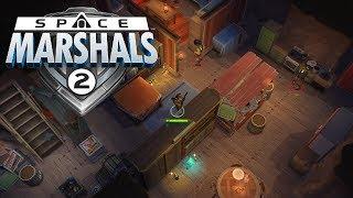 space Marshals 2 Gameplay Обзор Первый взгляд Летсплей (Android,APK,iOS)