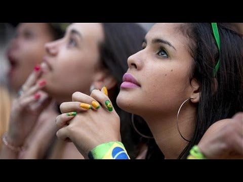 World Cup Sights and Sounds: Brazil vs. Mexico