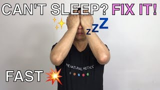 How to fall asleep if you can't sleep