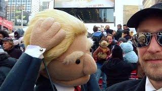 Маппет-шоу с Дональдом Трампом в Нью-Йорке