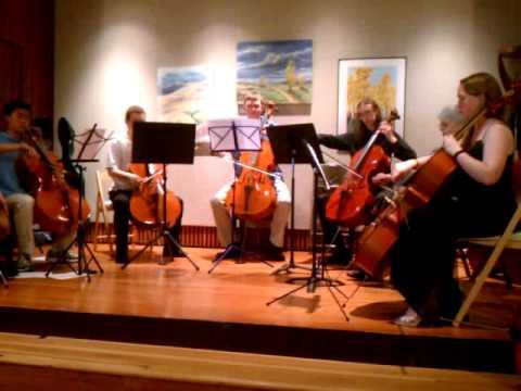 Kathie Reed Studio Cello Ensemble - Joga (Bjork), Arranged by Nick Halsey