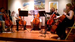 Kathie Reed Studio Cello Ensemble - Joga (Bjork), Arranged by Nick Halsey