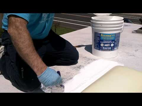 RV Rubber Roof Restoration and Repair