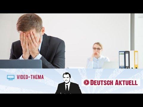 Konflikte Lösen Im Büro   Deutsch Lernen Mit Videos