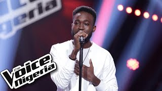 "Chris Rio sings ""Love don't lie"" / Blind Auditions / The Voice Nigeria Season 2"