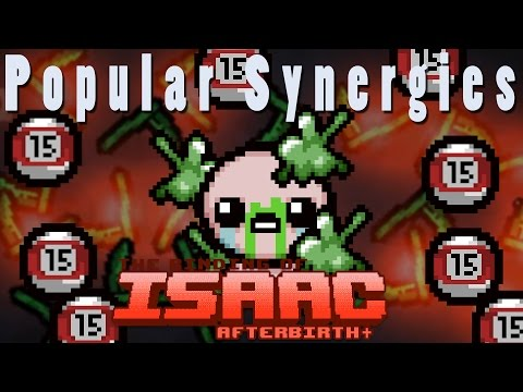 The Binding of Isaac Afterbirth Plus | Demonic Sinus Infection! | Popular Synergies!
