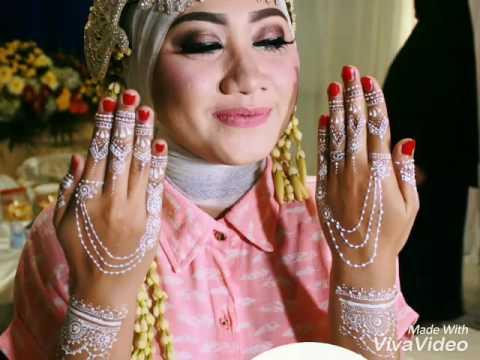 White Henna Henna Putih Wedding By Rajna Youtube