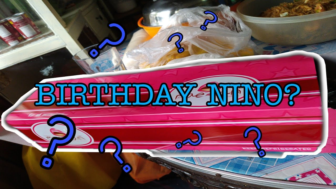 Birthday nino? | Vlog#03
