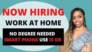 $13-$16 Hourly Smart Phone Based-Work From Home Jobs-No Experience Necessary