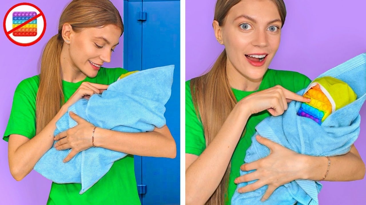 HOW TO SNEAK POP IT ANYWHERE! Creative DIY & Crafts To Try by Mr Degree