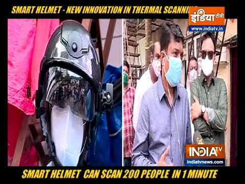 COVID-19: These smart helmets can screen over 200 people in one minute