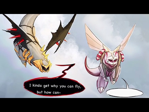 (Pokemon Comic Dub) - Why Can Dialga Fly