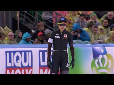 Miho Takagi vs. Ireen Wust - 1500m. World Allround Championships 2018