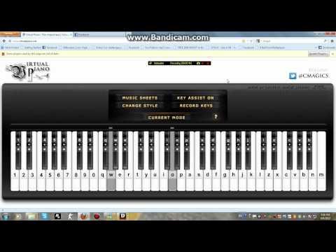 Pachelbel Canon In D - Virtual Piano